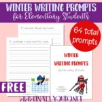 Free Winter Writing Prompts for Elementary Students