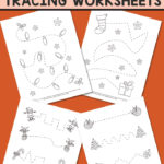 Free Christmas Tracing Worksheets