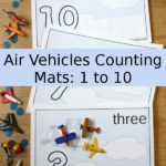 Free Flying Counting Mats