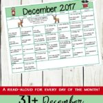 Free December Read-Aloud Calendar