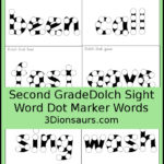 Free Second Grade Dot Marker Dolch Sight Words
