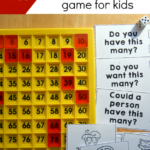 Number Sense Game for Kids Freebie