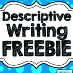 Free Descriptive Writing Printable