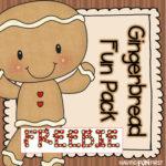 Free Gingerbread Fun Pack
