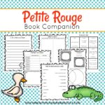 Free Petite Rouge Riding Hood Printable Pack