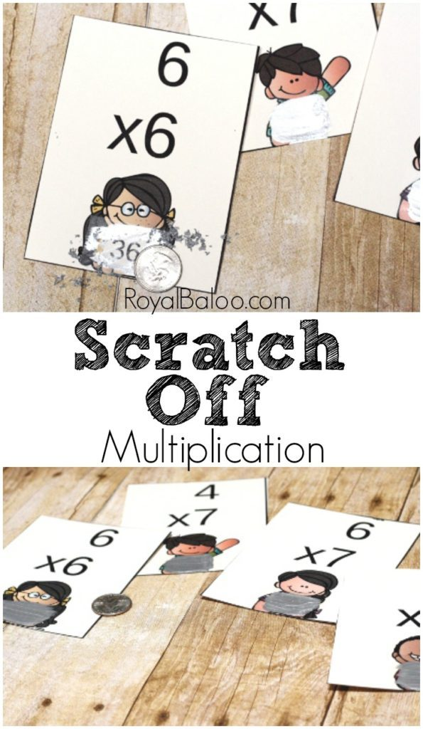 I absolutely love finding new and fun ways to work on math facts with my kids. These scratch off multiplication flashcards are absolutely brilliant! :: www.thriftyhomeschoolers.com