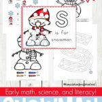 Free Snowman Preschool Learning Pack