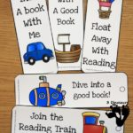 Free Transportation Themed Bookmarks