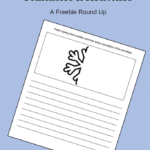 Free Snowflake Writing Prompt Page