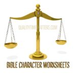 Free Bible Character Printables