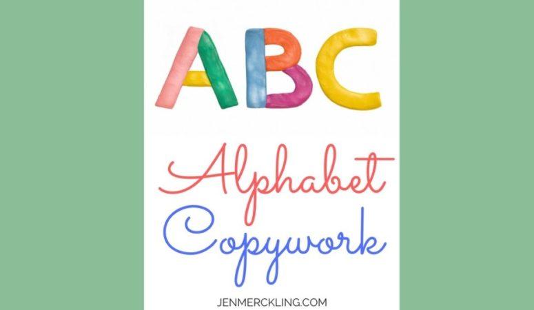 Free ABC Handwriting Worksheets