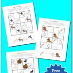 Free Arctic Animals Sudoku Puzzles