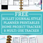 Free Bullet Journal Home Planner Printables