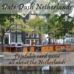 Free Printable Netherlands Date Dash Card Game