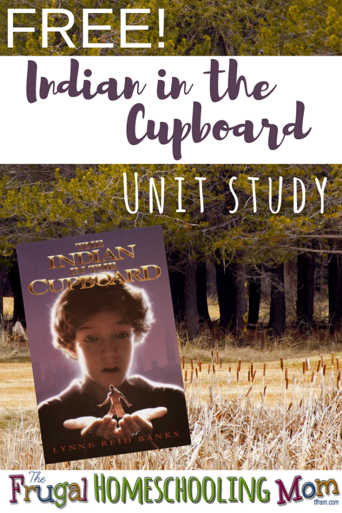 """""""The Indian in the Cupboard""""was such a fun book that let my imagination run wild and sent me looking behind every cabinet door in the house! Here are some great resources to create a Free Unit Study for this wonderful book! :: www.thriftyhomeschoolers.com"""