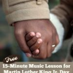 {free} 15-Minute Martin Luther King Jr Day Music Lesson