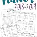 Free Homeschool Planner 2018-2019