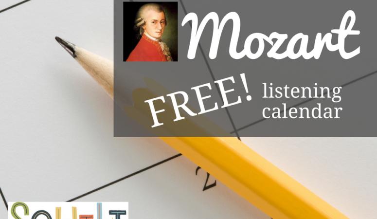 Free Mozart Listening Calendar