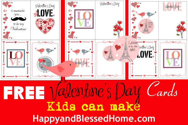 Valentine's Day is quickly approaching and that means hearts are everywhere. This year, have your kids make their own cards with these DIY Valentine's Day Cards. :: www.thriftyhomeschoolers.com