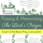 Free Lord's Prayer Printables