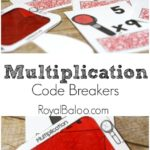 Free Multiplication Code Breaker Printables