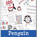 Free Penguin Do-a-Dot Printables