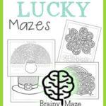 Free St. Patrick's Day Mazes