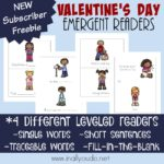 Free Valentine's Day Emergent Readers