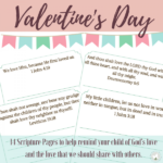 Valentine's Day Scripture Copywork ~ Limited Time Freebie
