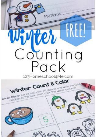 Winter Counting Pack Freebie