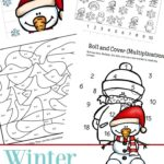 Free Winter Math Printables (1st-3rd)