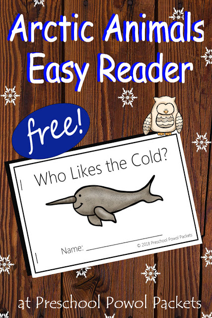 If you're studying Antarctica or arctic animals, this adorable easy reader is the perfect addition to your studies! This easy reader to help kids learn what animals like the cold! :: www.thriftyhomeschoolers.com