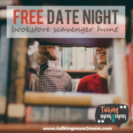 Limited Time Freebie ~ Date Night Bookstore Scavenger Hunt Printables