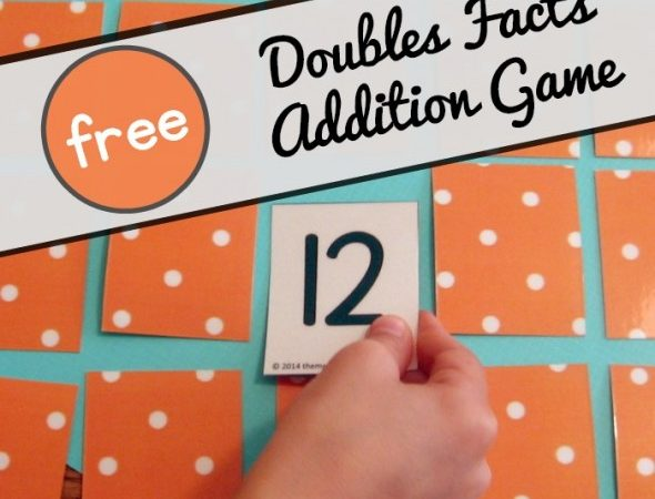 Free Doubles Facts Addition Game