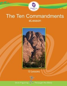 Free 10 Commandments eLesson (Limited Time)