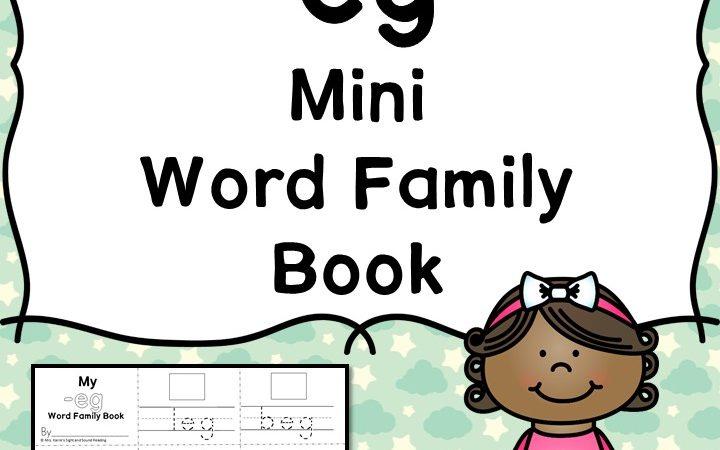 Free -eg CVC Word Family Worksheets