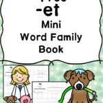Free -et CVC Word Family Book
