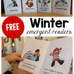 Free Winter Emergent Readers