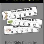 Free Skip Counting Visuals for Kids