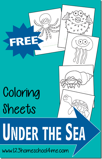 If you're studying the ocean or sea animals with your toddlers or preschoolers, these coloring pages would be the perfect addition. These pages include some handwriting practice too! :: www.thriftyhomeschoolers.com