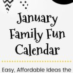 Free January Family Fun Calendar