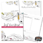 Free Just One Word Journaling Pack