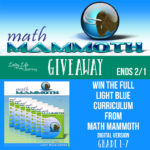 Time Sensitive: Full Light Blue Math Curriculum from Math Mammoth Giveaway