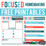 Free Focused Homemaking Guide & Planner