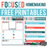 Free Focused Homemaking Guide & Planner