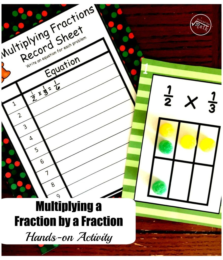 Fractions are tricky. I still struggle with them at times, so love finding resources to help my own kids master them. This Free Multiplying a Fraction by a Fraction is perfect! :: www.thriftyhomeschoolers.com