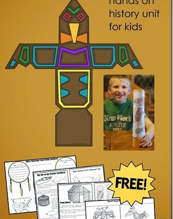 Free Pacific Northwest Native Americans Printables
