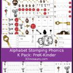 Free Letter K Phonics Pack