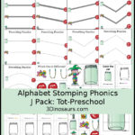 Alphabet Phonics Pack: Letter J