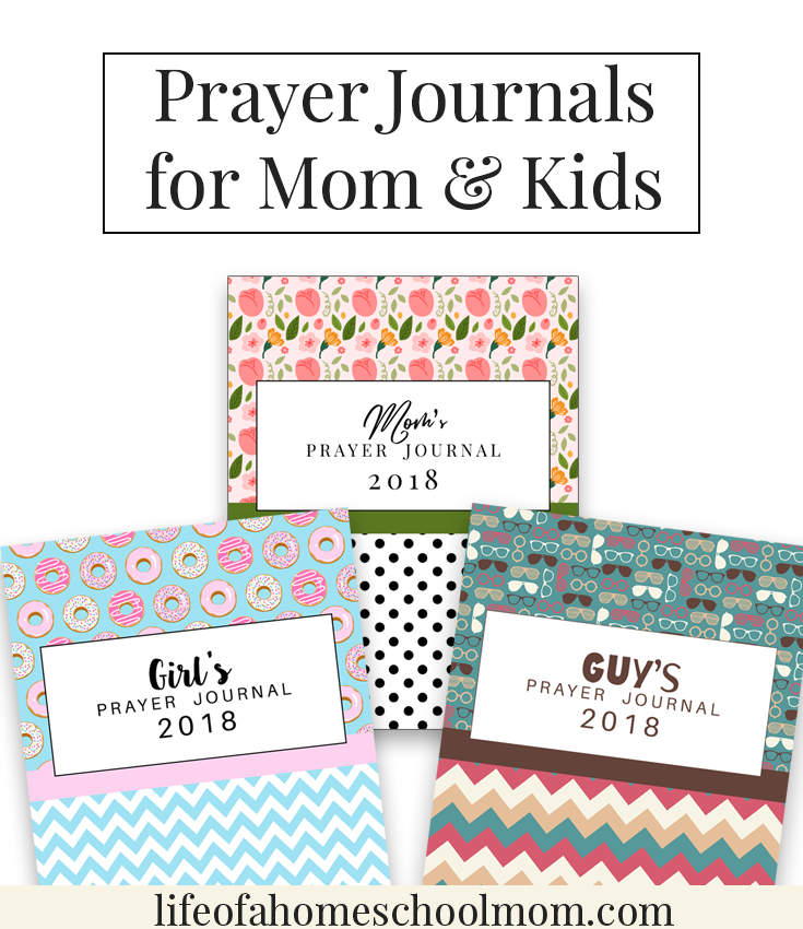 Have you ever used a prayer journal? It is a great way to help you stay focused and on-track with your prayer life. It is also a great way to track prayers and record answers as they come. For a LIMITED TIME ONLY, you can get these 2018 Prayer Journals absolutely Free! She has 3 to choose from: Moms, Girl's & Guy's. :: www.thriftyhomeschoolers.com
